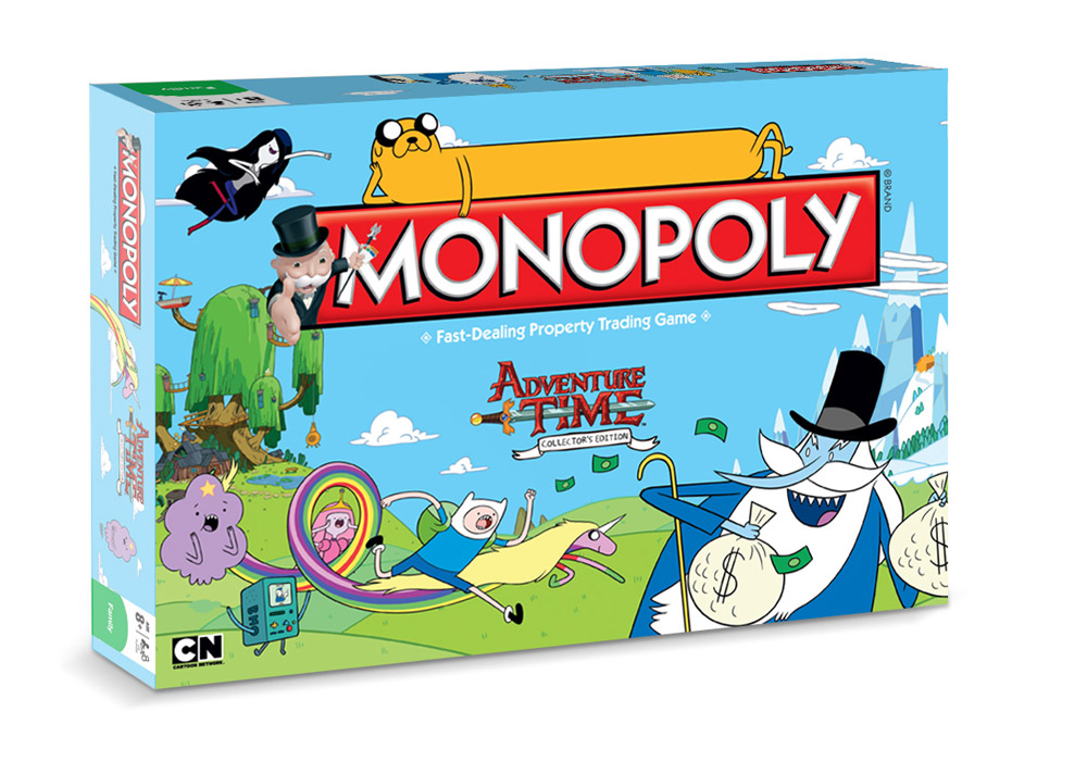 Adventure Time Board Game Monopoly *English Version*