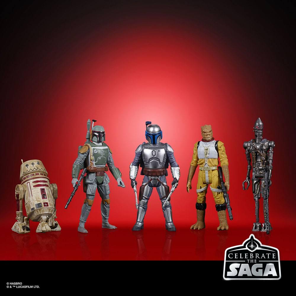 Star Wars Celebrate the Saga Action Figures 5-Pack Bounty Hunters 10 cm