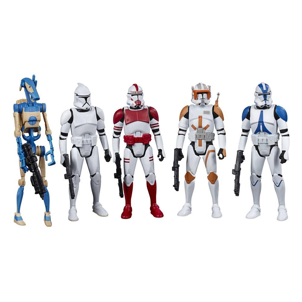 Star Wars Celebrate the Saga Action Figures 5-Pack Galactic Republic 10 cm