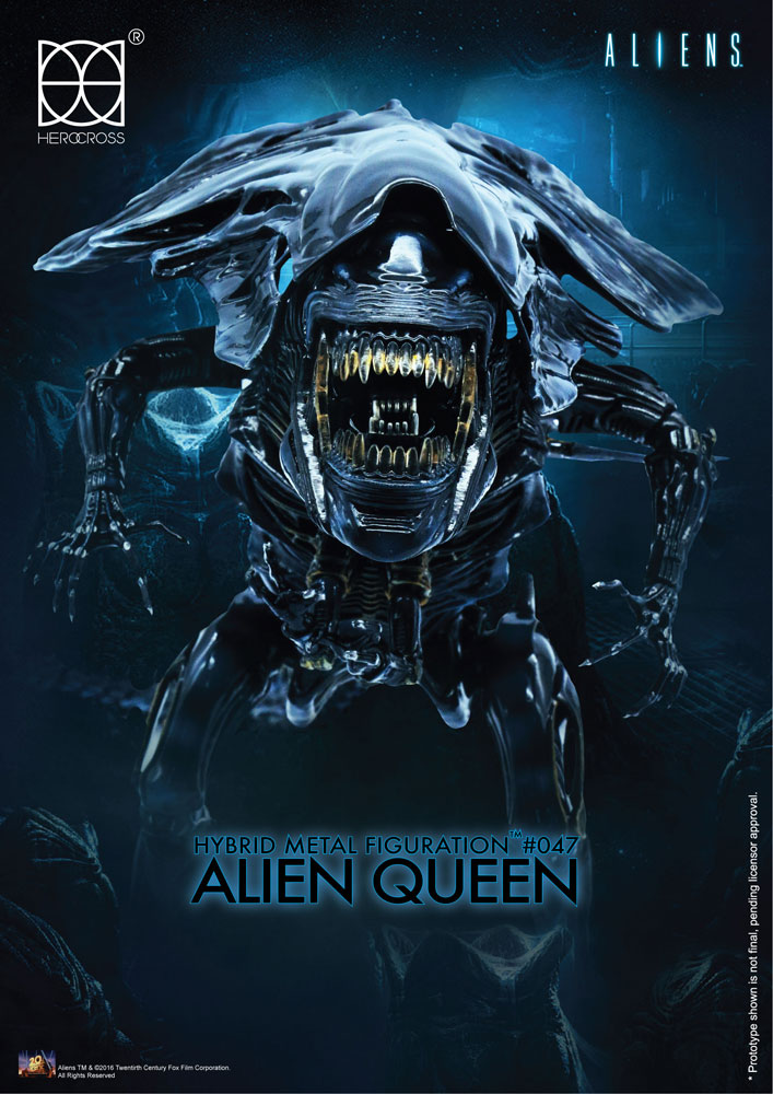 Aliens Hybrid Metal Action Figure Alien Queen 18 cm