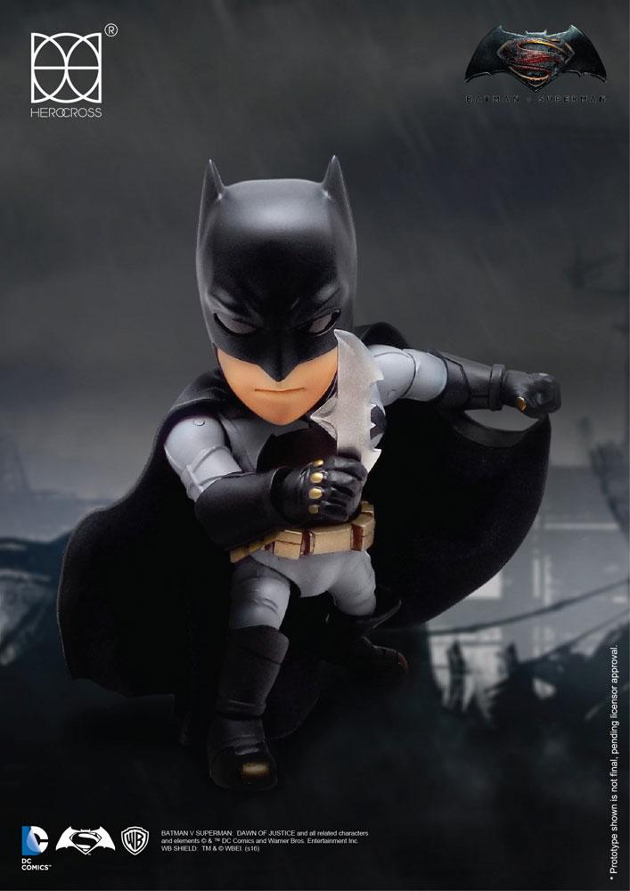 Batman vs Superman Hybrid Metal Action Figure Batman & Full Set Armor 14 cm