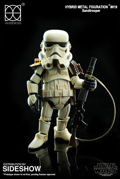 Star Wars Hybrid Metal Action Figure Sandtrooper 14 cm