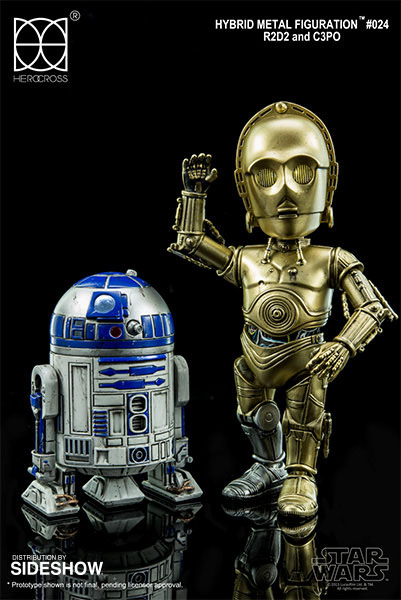 Star Wars Hybrid Metal Action Figures 2-Pack R2D2 & C-3PO