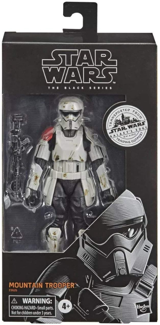 Hasbro Star Wars Black Series Galaxy`s Edge Mountain Trooper Exclsuvie Edt.