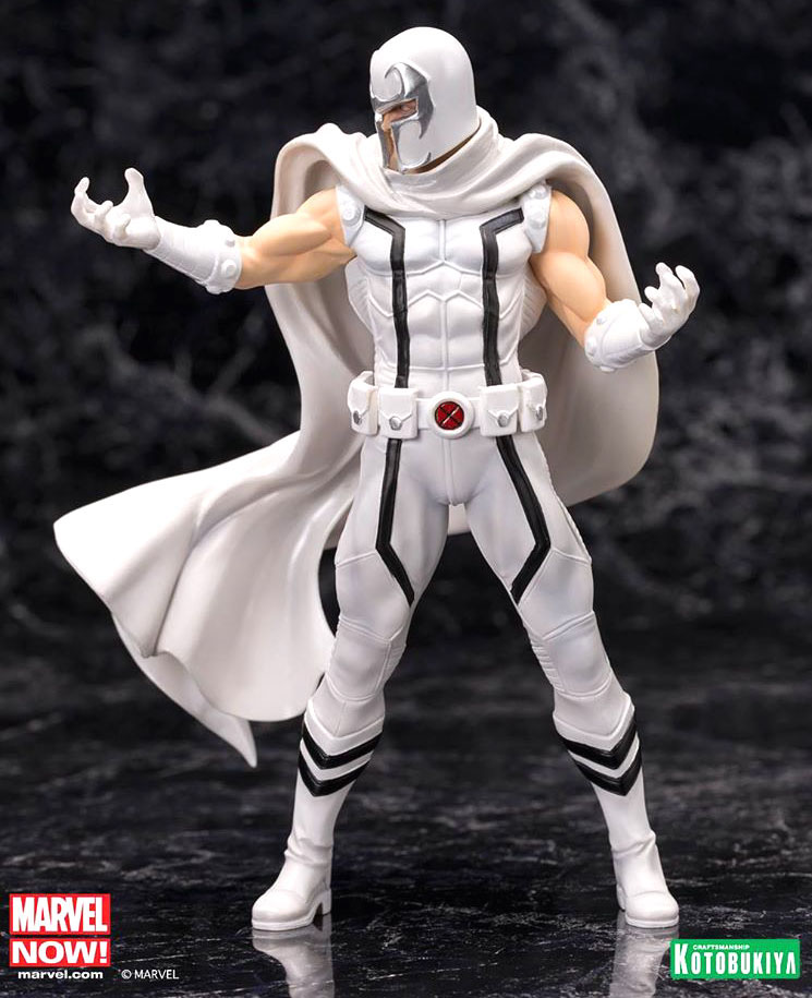 Marvel Comics ARTFX+ PVC Statue 1/10 White Magneto (Marvel Now) 20 cm