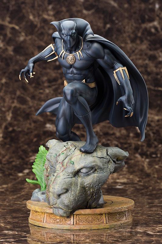 Marvel Comics Fine Art Statue 1/6 Black Panther 31 cm