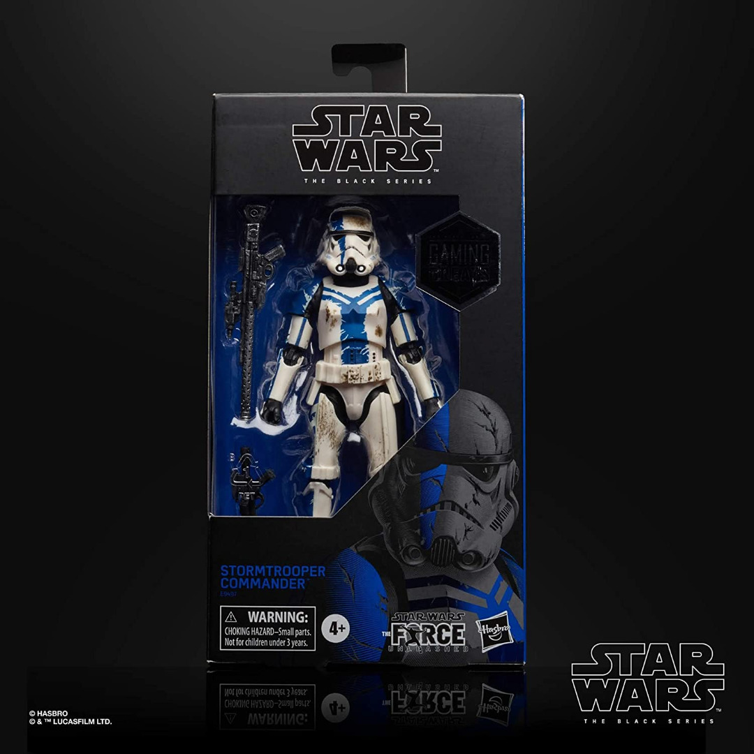 Star Wars The Black Series Gaming Greats Stormtrooper Commander