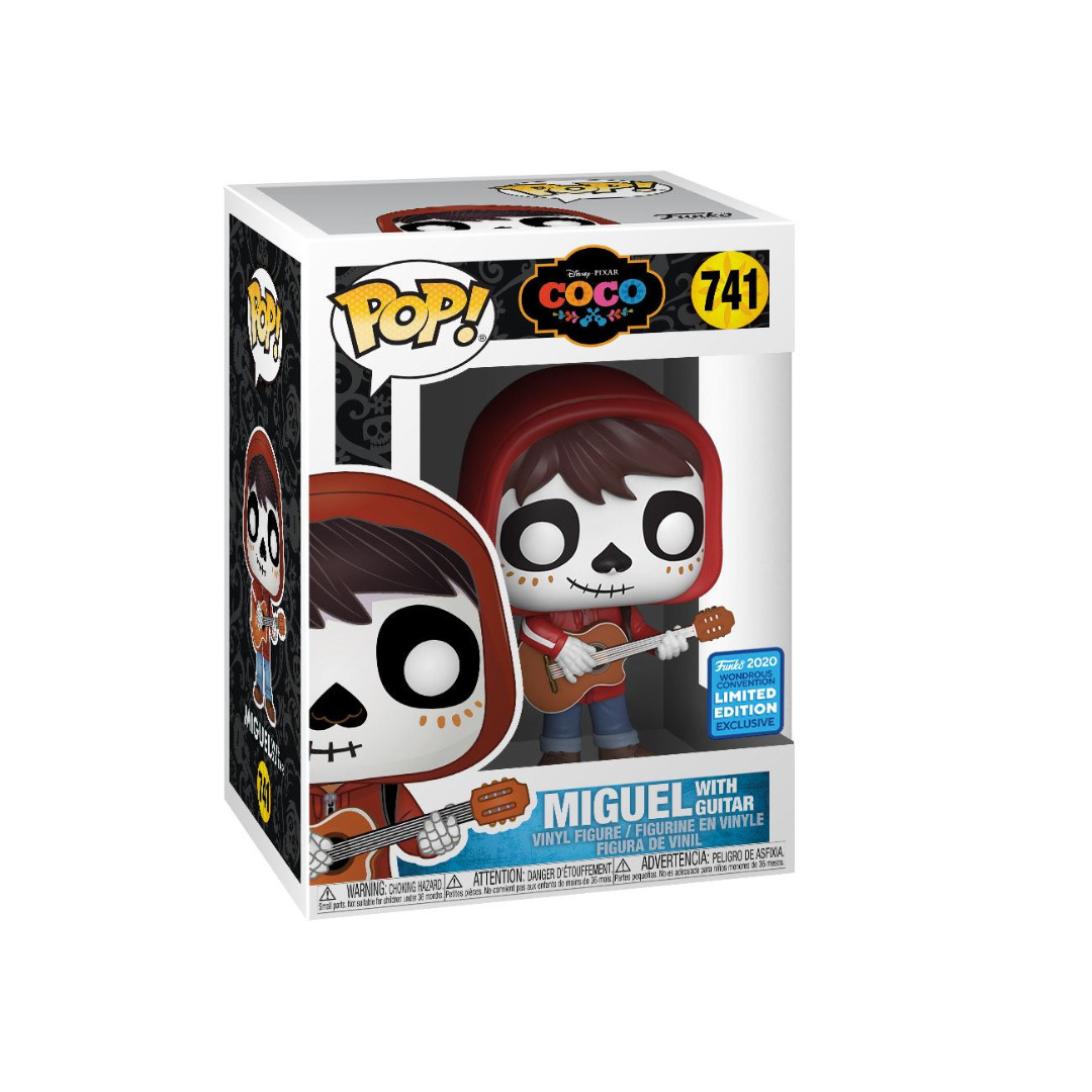 Coco POP! Movies Vinyl Figure Coco Day of the Dead Makeup Convention Excl.