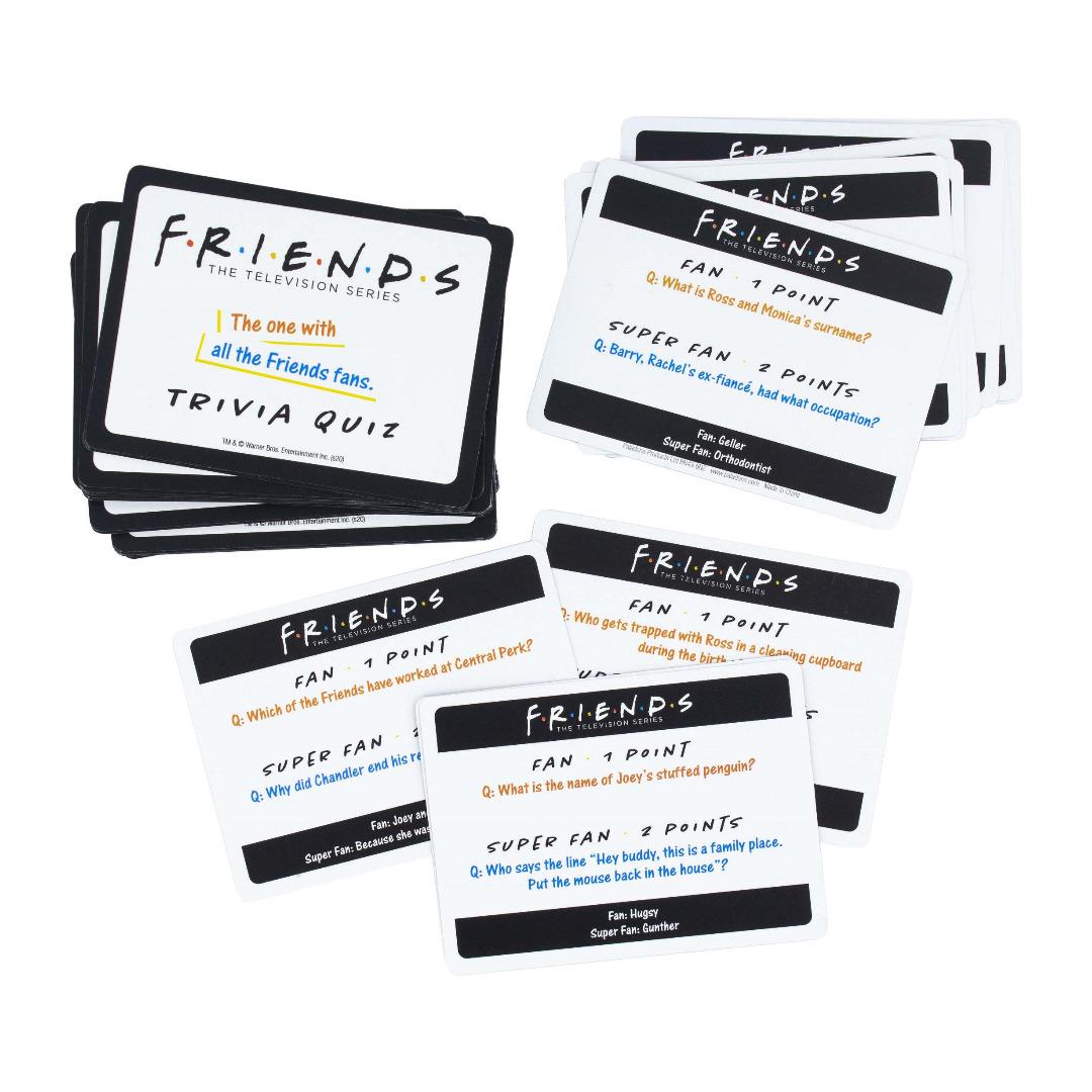 Friends: Trivia Quiz Second Edition