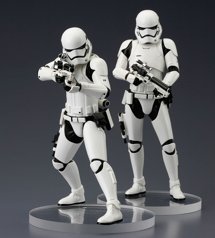 Star Wars Episode VII ARTFX+ Statue 2-Pack First Order Stormtrooper 18 cm