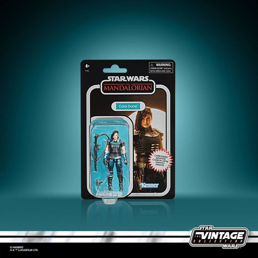 Star Wars The Mandalorian Vintage Collection Carbonized AF 2020 Cara Dune