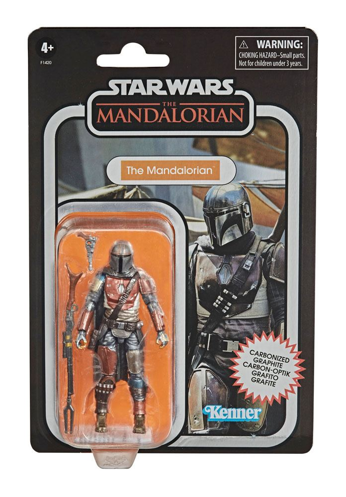 Star Wars The Mandalorian Vintage Collection Carbonized AF The Mandalorian