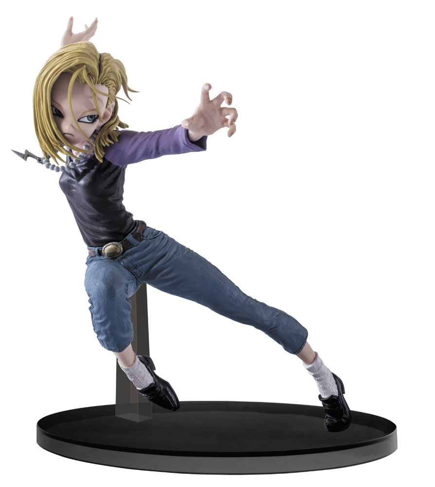 Dragonball Super SCultures Figure Big Budoukai 6 Android 18 15 cm