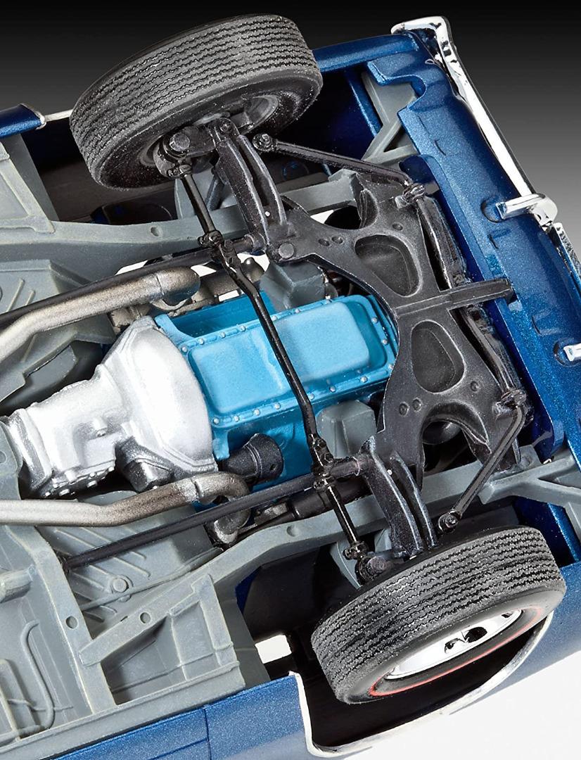 Revell Model Kit '68 Dodge Charger R/T 1:25