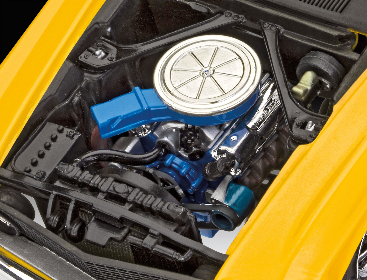 Revell Model Kit '69 Ford Mustang Boss 302 1:25