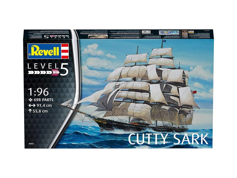 Revell Model Kit Cutty Sark 1:96