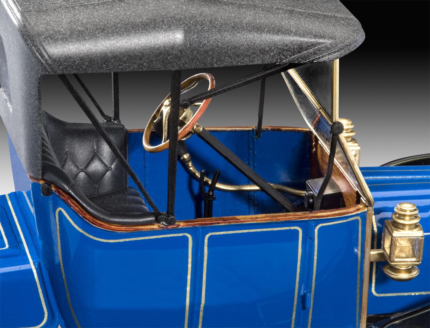 Revell Model Kit 1913 Ford T Modell Roadster 1:24