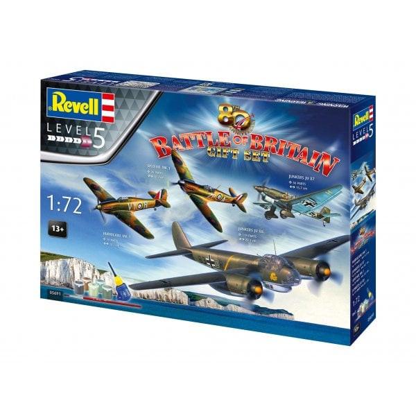 Revell Model Set 80th Anniversary Battle of Britain Gift Set 1:72