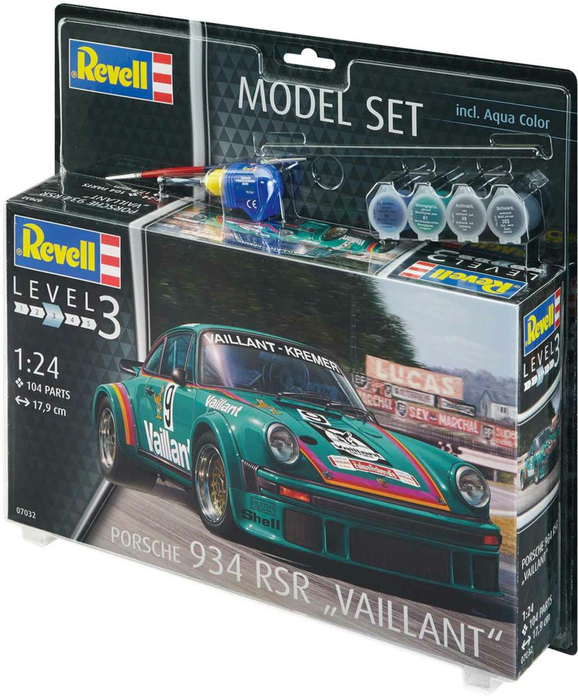 Revell Model Set Porsche 934 RSR Vaillant 1:24