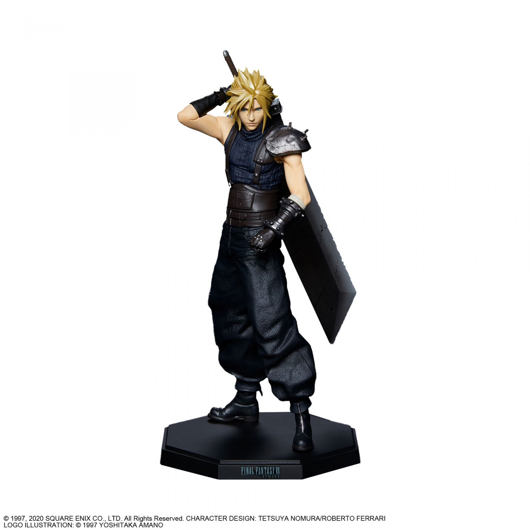 Final Fantasy VII Remake PVC Statue Cloud Strife 23 cm
