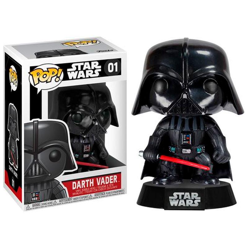 POP: Star Wars Darth Vader Bobble Head Vinyl Figure 10 cm