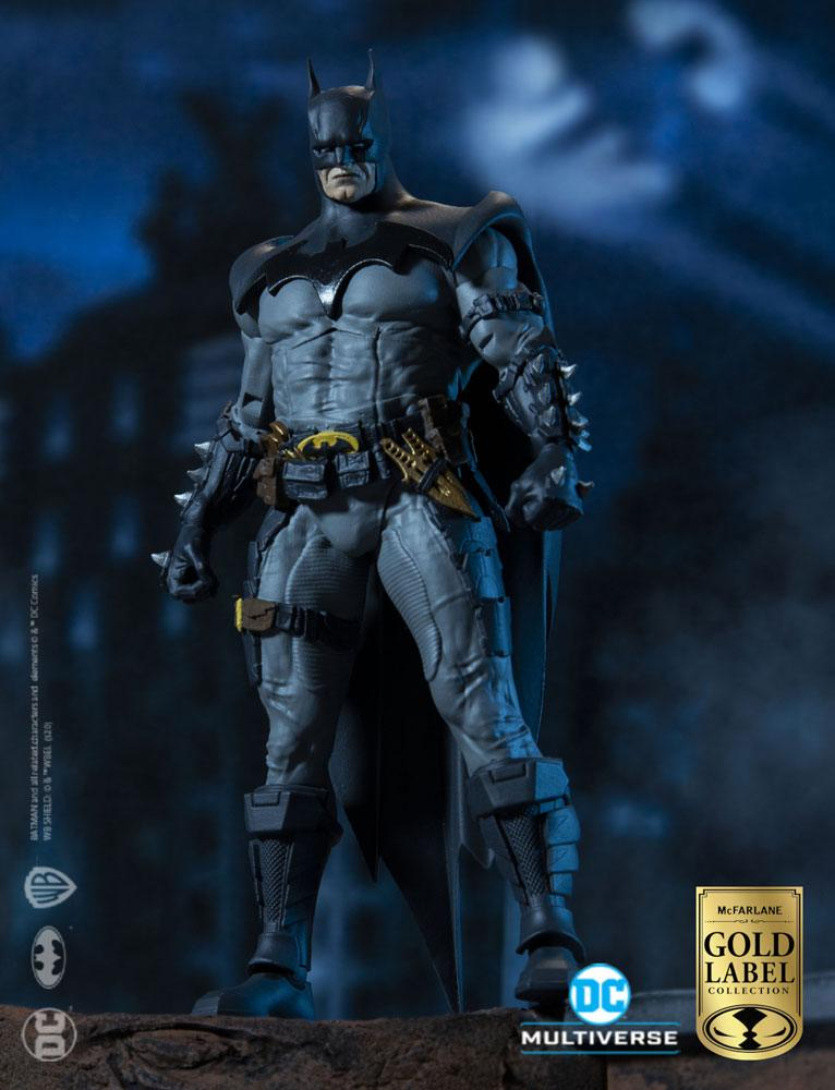 DC Multivers AF Batman Designed by Todd McFarlane Gold Label Collection