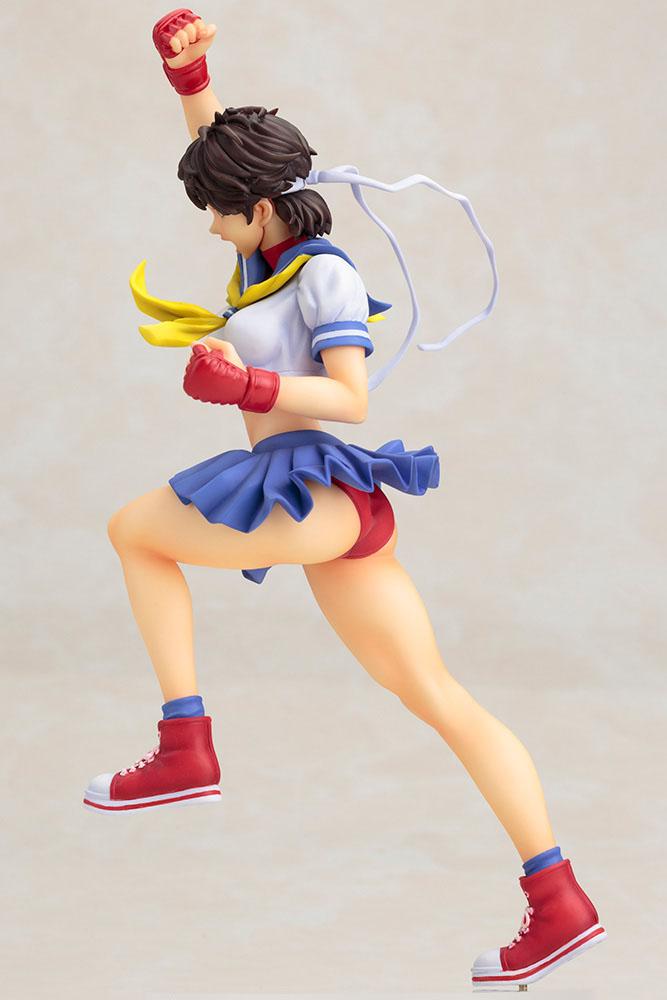 Estátua PVC Street Fighter Bishoujo 1/7 Sakura 24 cm