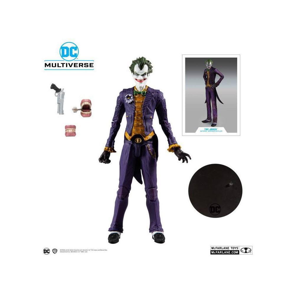DC Multiverse Action Figure Arkham Asylum Batman VS Arkham Asylum Joker
