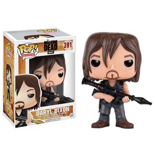 Pop! TV: The Walking Dead - Daryl with Rocket Launcher 10 cm