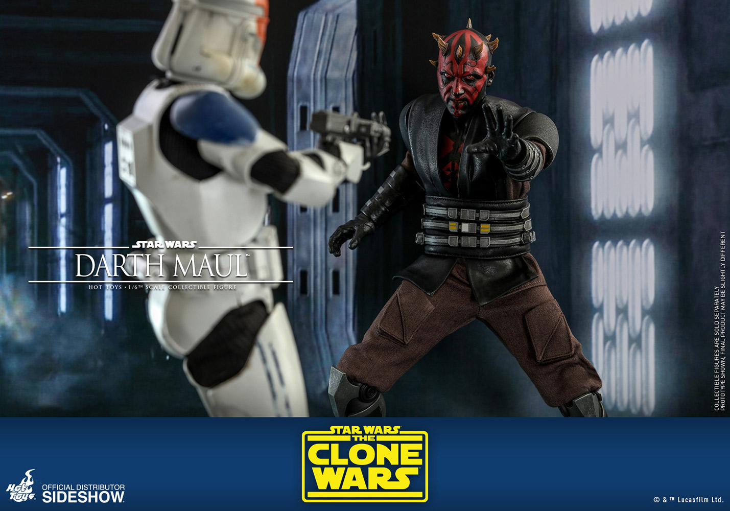 Star Wars: The Clone Wars - Darth Maul 1:6 Scale Figure
