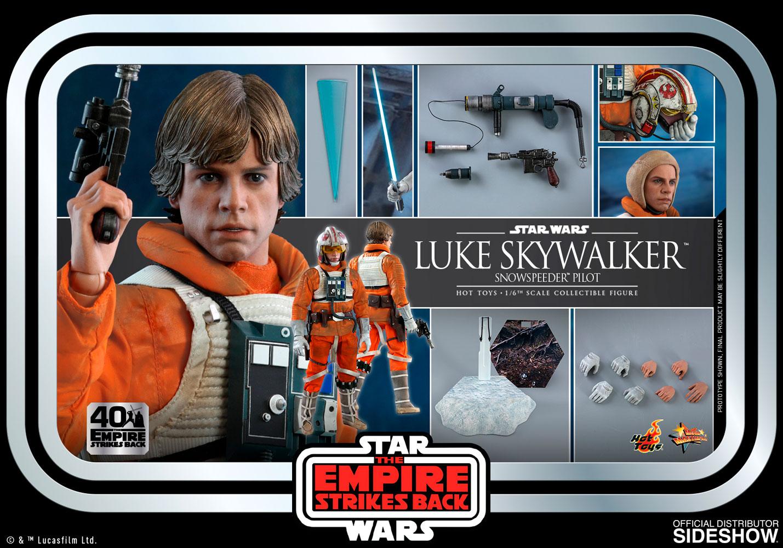 Star Wars: The Empire Strikes Back - Luke Skywalker Snowspeeder Pilot 1:6