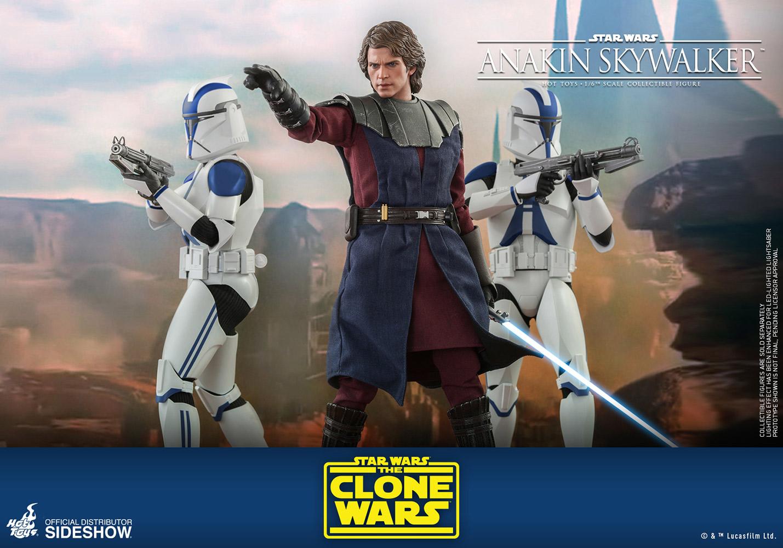 Star Wars: The Clone Wars - Anakin Skywalker 1:6 Scale Figure