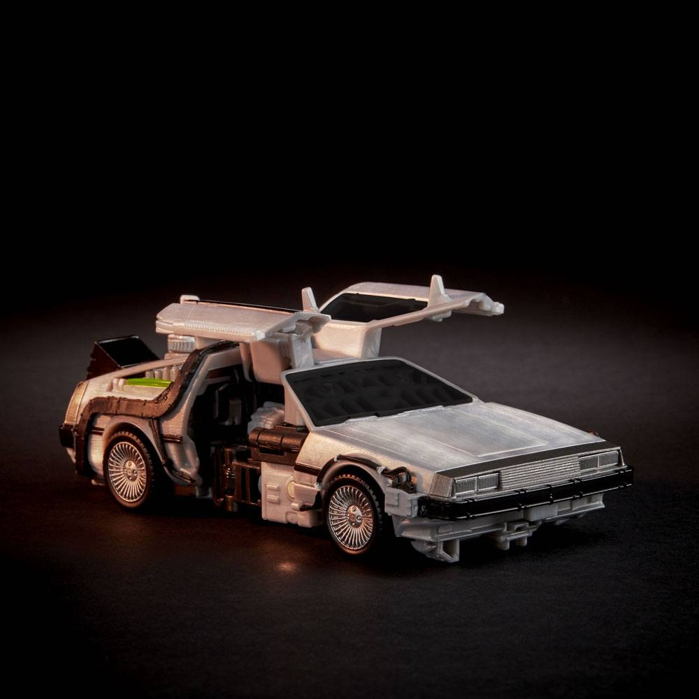 Transformers x Back to the Future Action Figure Delorian 14 cm