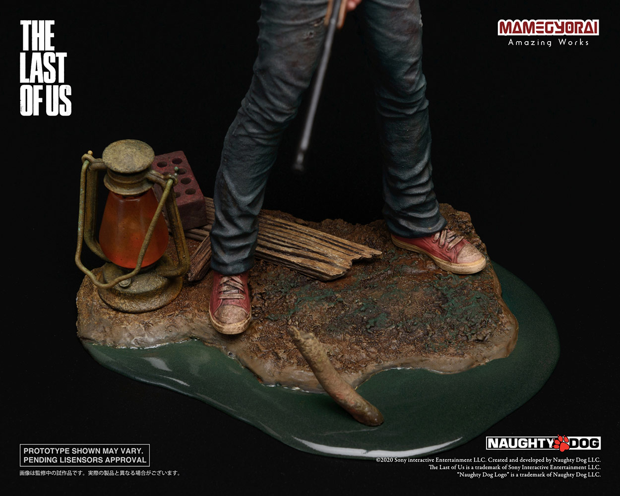 The Last of Us: Joel and Ellie 1:9 Scale Statue Set
