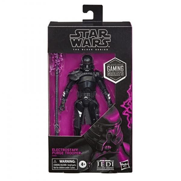 Star Wars Black Series Gaming Greats Exclusive Electrostaff Purge Trooper