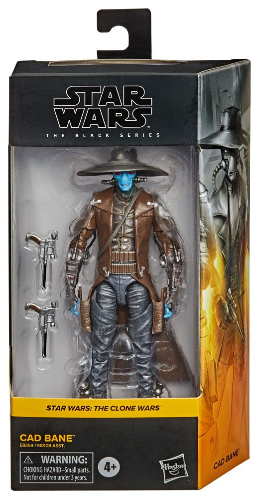 Star Wars Black Series Action Figures Cade Bane (The Clone Wars) 2020 15 cm