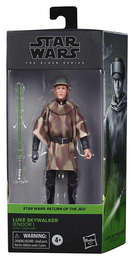 Star Wars Black Series Action Figure Luke Skywalker (Endor) (Episode VI)