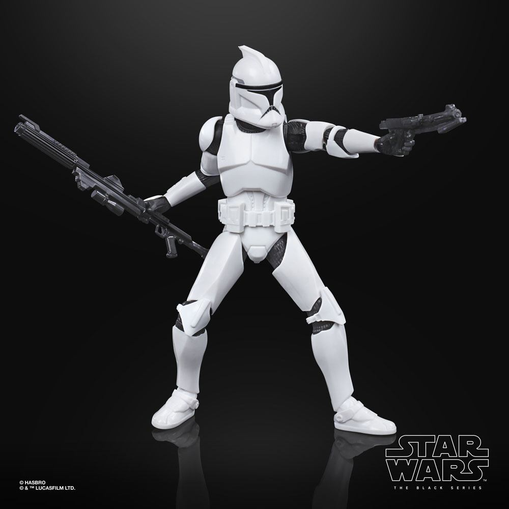 Star Wars Black Series Action Figures Phase I Clone Trooper (Episode II)