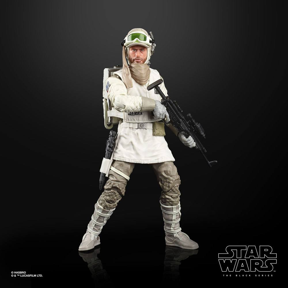 Star Wars Black Series Action Figures Rebel Trooper (Hoth) (Episode V)
