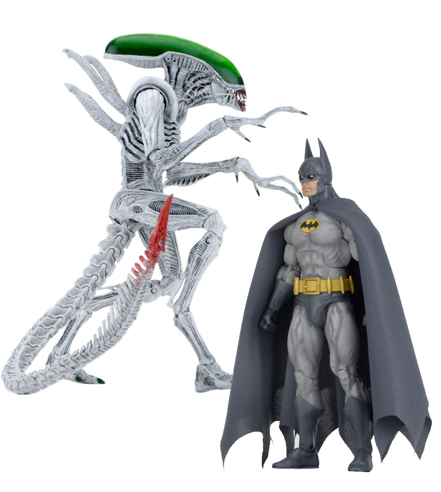 Action Figure Batman/Aliens 2-Pack Batman vs Alien 18 cm