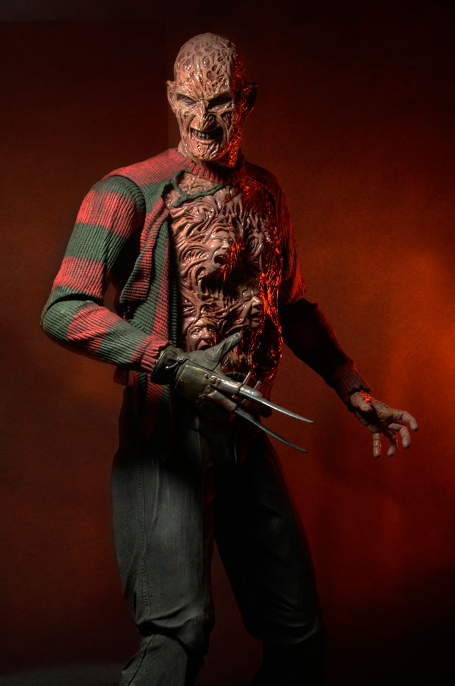 Action Figure Nightmare On Elm Street 3 1/4 Freddy Krueger 45 cm