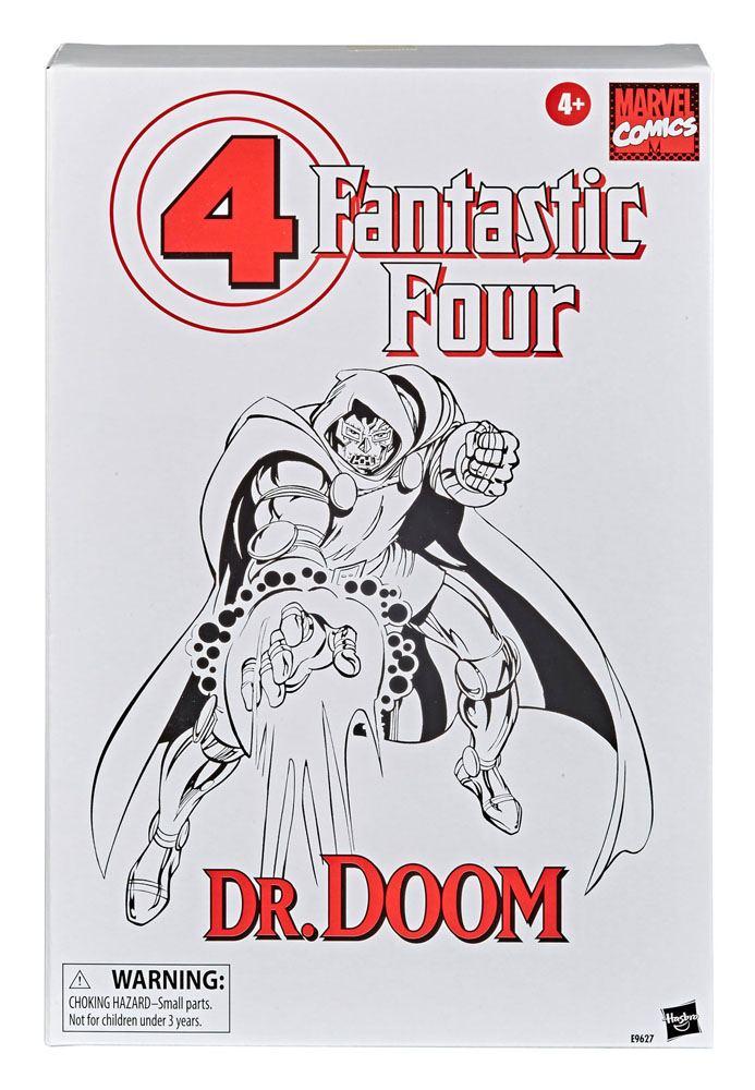 Fantastic Four Marvel Retro Collection Action Figure Dr. Doom 15 cm