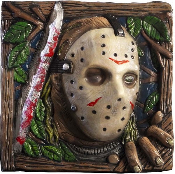 Friday the 13th Wall Mount Jason 33 x 33 cm