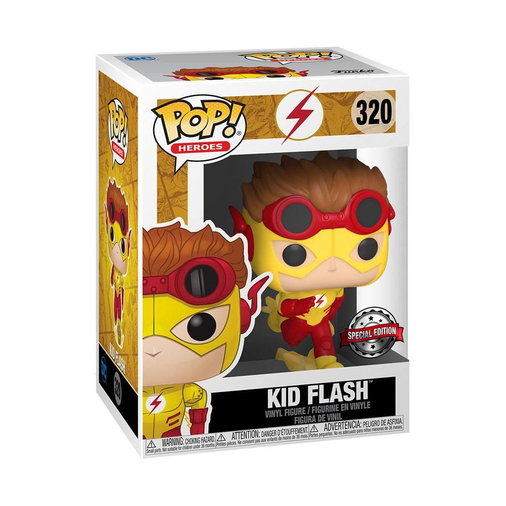 DC Young Justice POP! Heroes Vinyl Figure Kid Flash 9 cm