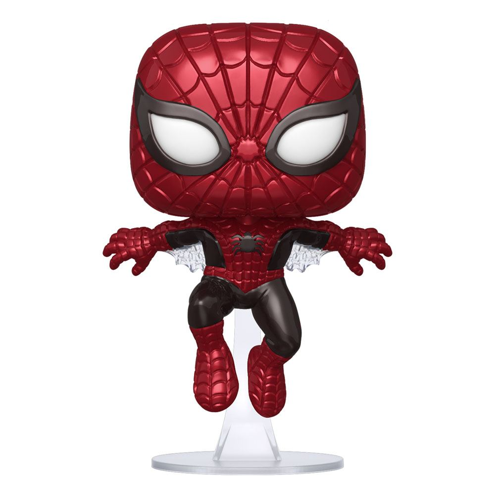 Marvel 80th POP! Vinyl Figure Spider-Man (First Appearance) (Metallic) 9 cm