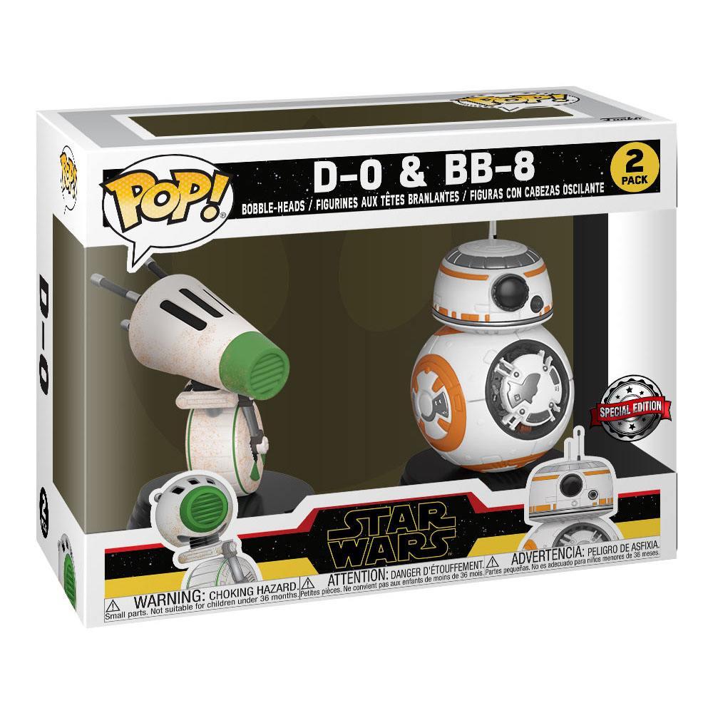 Star Wars Rise of Skywalker POP! Vinyl Bobble-Head 2-Pack D-O & BB-8 9 cm