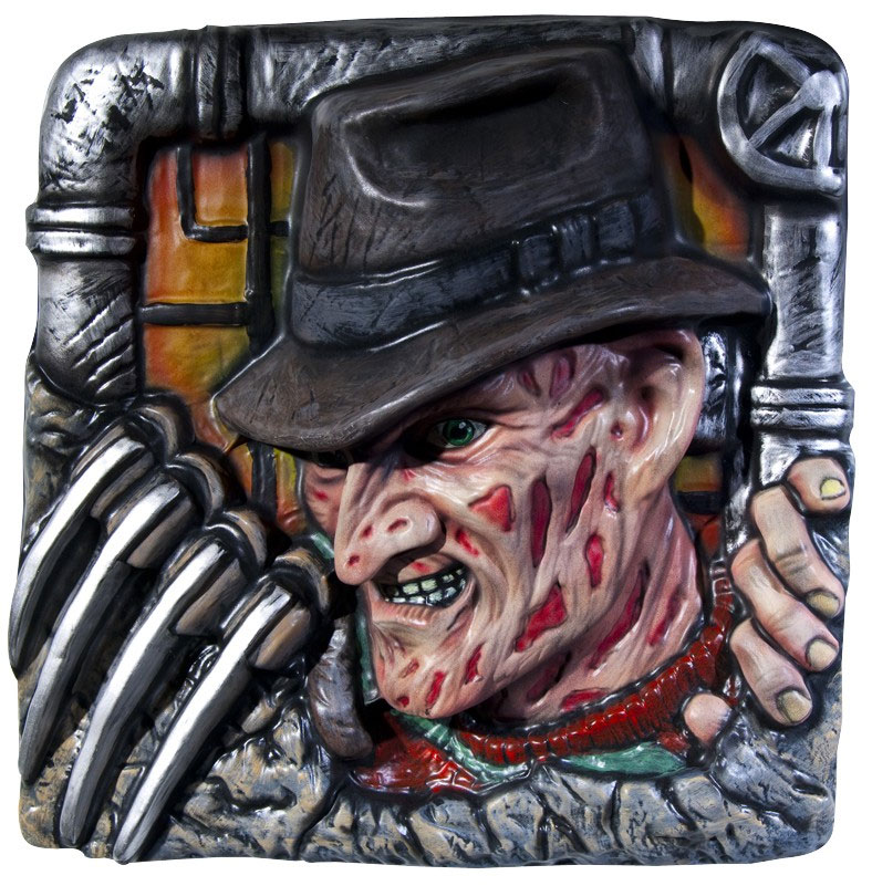 Nightmare on Elm Street Wall Decor Freddy 36 x 36 cm