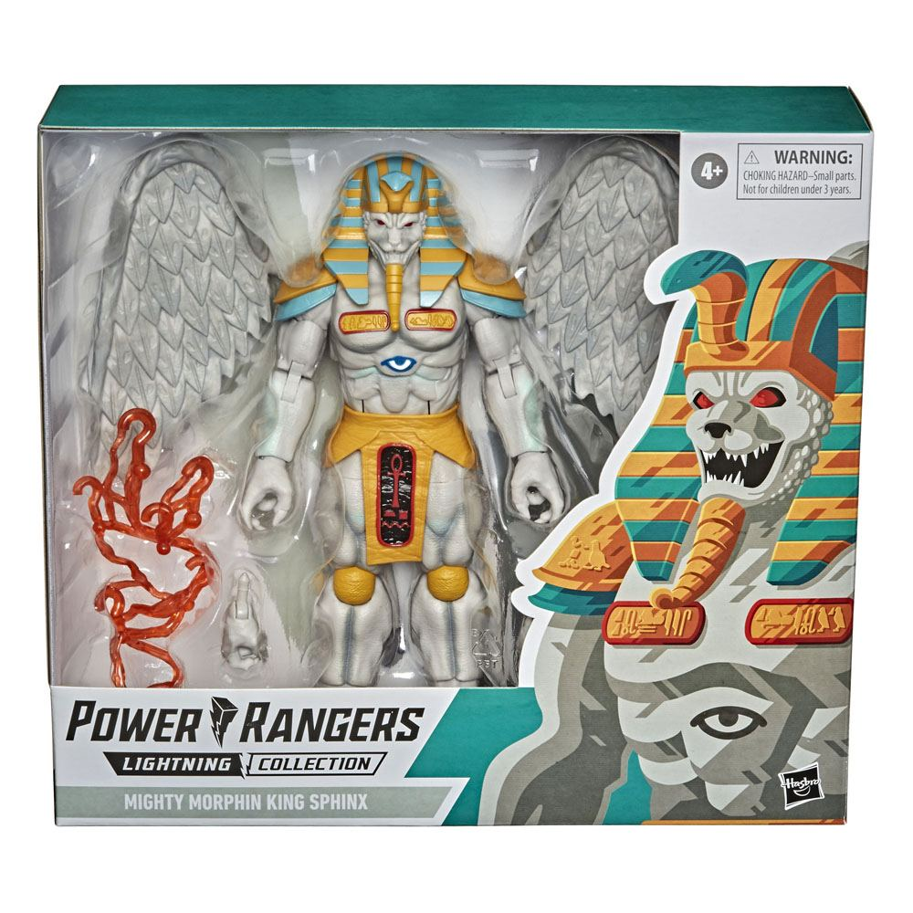 Power Rangers Lightning Collection Monsters AF King Sphinx 20 cm