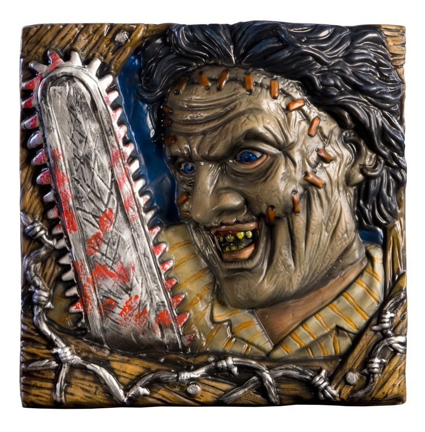 Texas Chainsaw Massacre Wall Mount Leatherface 33 x 33 cm