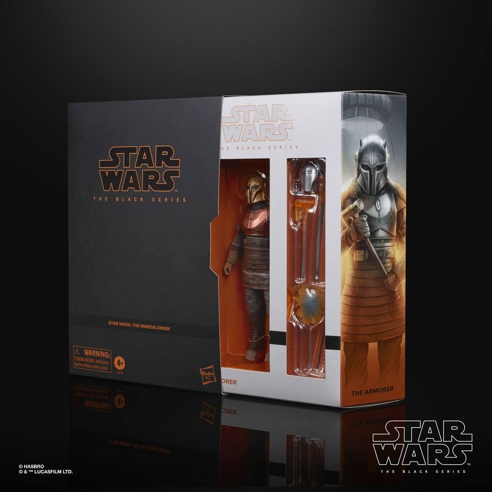 Star Wars The Mandalorian Black Series AF 2020 The Armorer Exclusive 15 cm